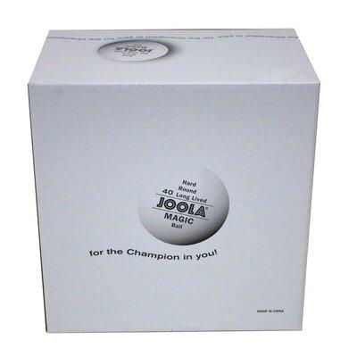 Joola USA JOOLA Magic 2-Star Training Table Tennis Balls – 144 Pack - White