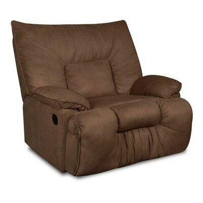 Cambarville Manual Recliner by Simmons Upholstery Upholstery: Mocha