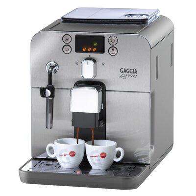 Brera Espresso Machine Color: Black and Silver
