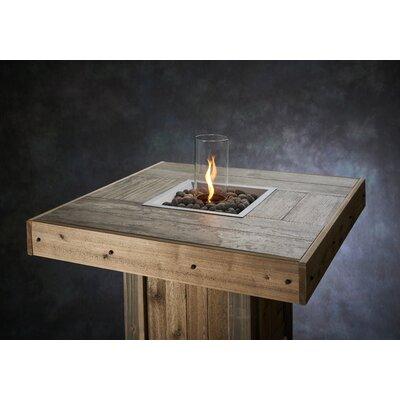 Westport Pub Wood Gas Fire Pit Table