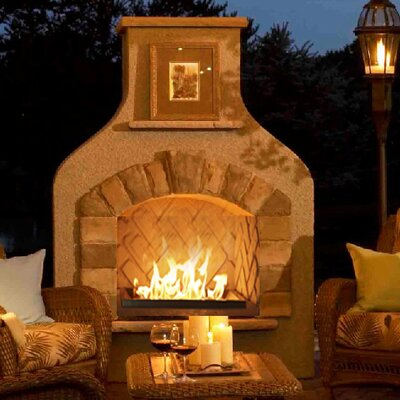 Sonoma Steel Gas Outdoor Fireplace