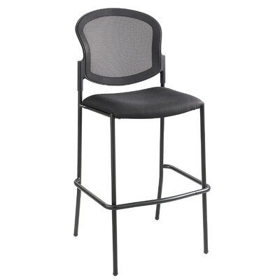 "Diaz 30"" Bar Stool Color: Black"