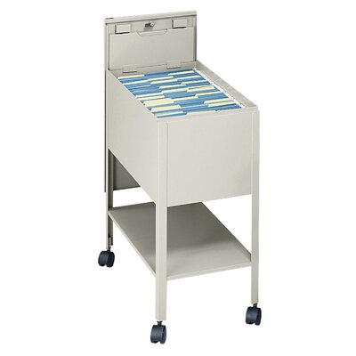 Letter-Size Tub File Cart Color: Putty