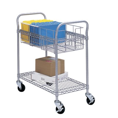 Safco Products Company Wire File Cart
