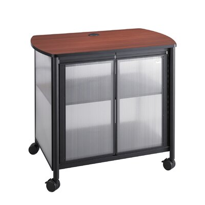 Safco Products Company Impromptu Mobile Printer Stand with Doors