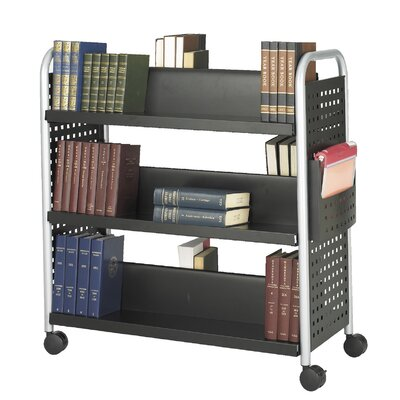 Safco Products Company Scoot Double-Sided Book Cart