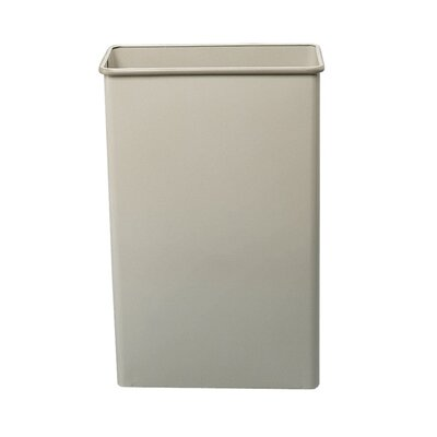 Safco Products Company 22-Gal Rectangular Wastebasket