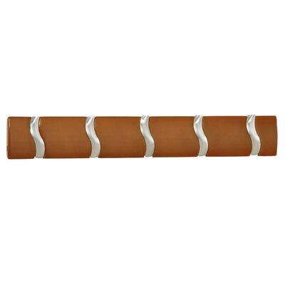Safco Products Company Designer 5 Hook Coat Rack