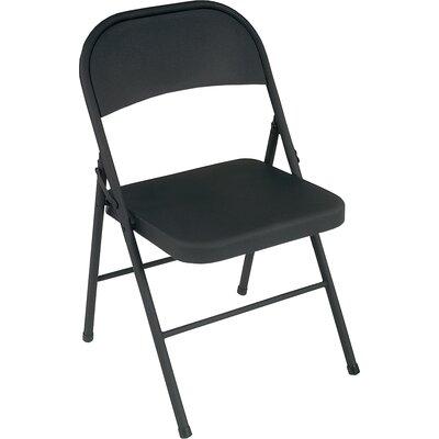 Folding Chair Color: Black
