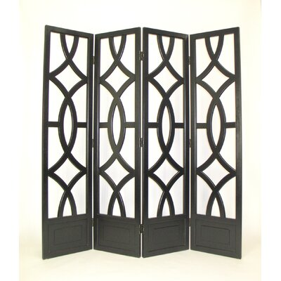 Looped 4 Panel Room Divider