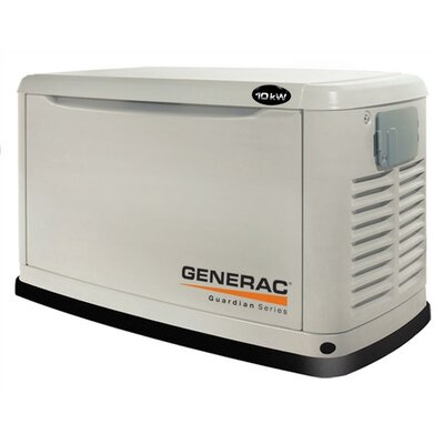 Generac Guardian 11 Kw Air-Cooled Dual Fuel Standby Generator in Steel Enclosure