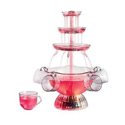 Lighted Party 3-Tier Beverage Fountain