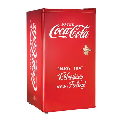 Coca-Cola Series 3.2 cu. ft Compact Refrigerator with Freezer