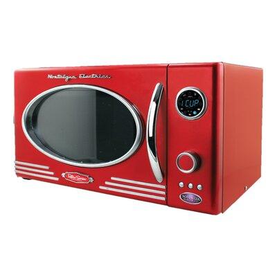 "Retro Series 19"" 0.9 CF Countertop Microwave Oven"