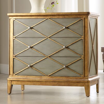 Melange Paxton 3 Drawer Chest