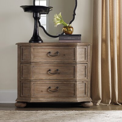 Corsica 3 Drawer Bachelor's Chest Color: Natural