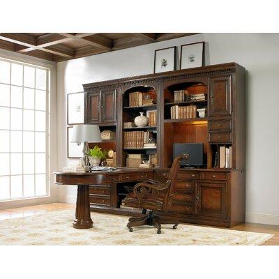 "European Renaissance II 57.5"" H x 32"" W Desk Hutch"
