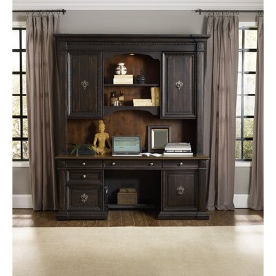 Treviso Executive Desk with Hutch
