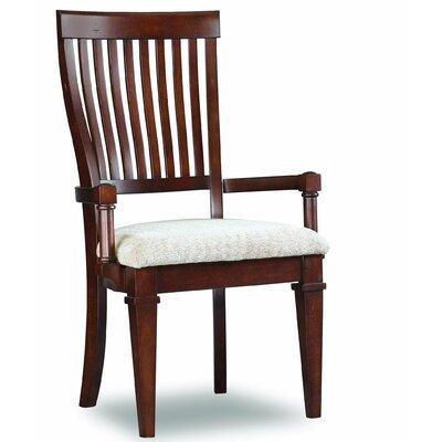 Hooker Furniture Abbott Place Slat Back Arm Chair