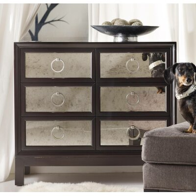 Melange 6 Drawer Mirrored Front Chest