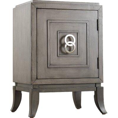 Melange Easton Chairside Accent Cabinet