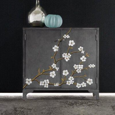 Melange in Bloom 2 Door Accent Cabinet