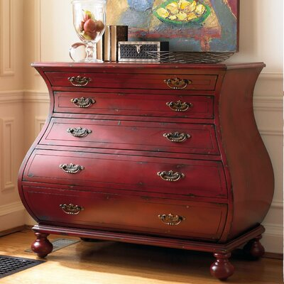 Bombe Chest Color: Red