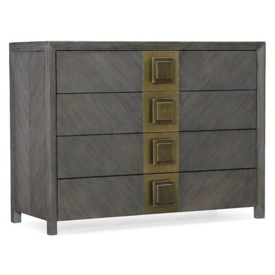 Melange Vega 4 Drawer Accent Chest