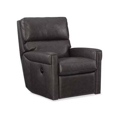 Lyrica Power Swivel Recliner Upholstery: Black