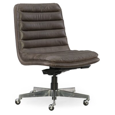 Wyatt Home Office Mid-Back Leather Office Chair