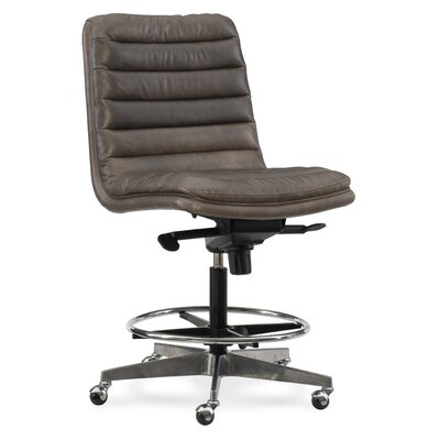Wyatt Home Office High-Back Leather Office Chair