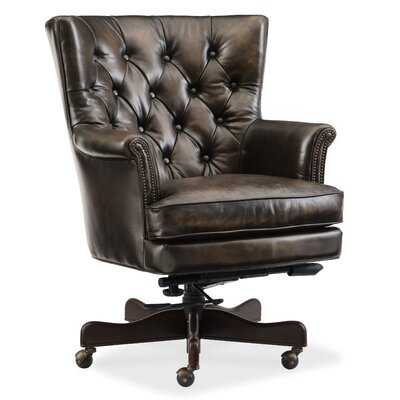 Theodore Home Office High-Back Leather Executive Chair