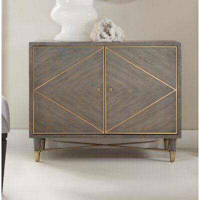 Melange Breck 2 Door Accent Chest