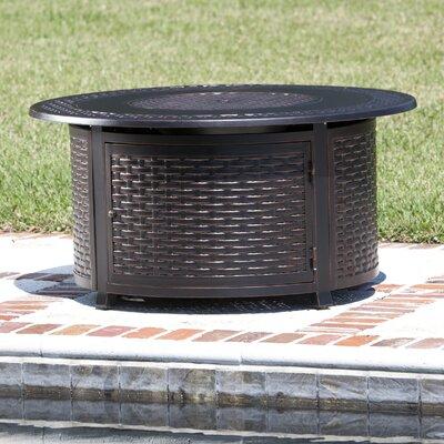 Bellante Aluminum Propane Fire Pit Table