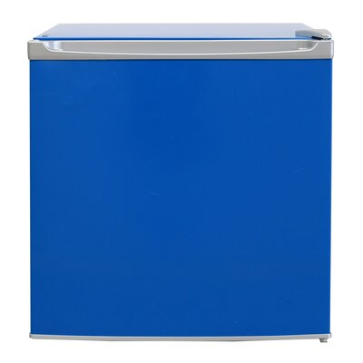 1.7 cu. ft. Compact Refrigerator Color: Blue