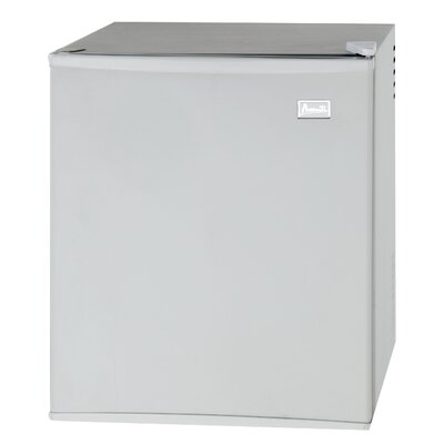 1.7 cu. ft. Compact Refrigerator Color: White