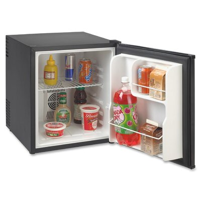 1.7 cu. ft. Compact Refrigerator Color: Black