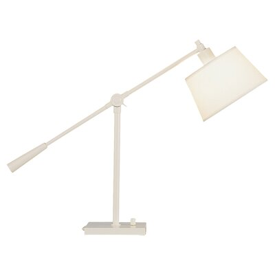 "Robert Abbey Real Simple 23.5"" H Table Lamp with Empire Shade"