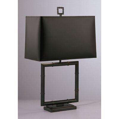 "Robert Abbey Jonathan Adler Meurice Square 26.75"" H Table Lamp with Rectangular Shade"
