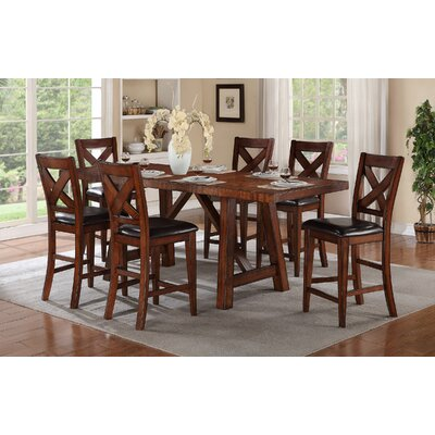 Winners Only Inc Kingston 7 Piece Dining Set Reviews Wayfair