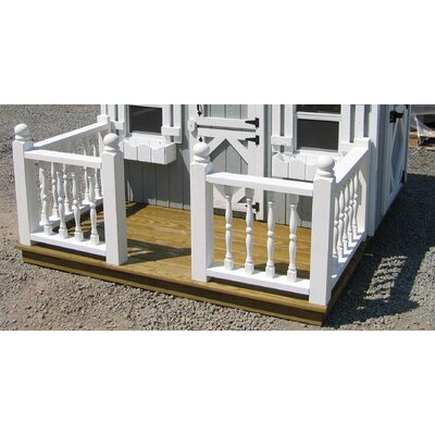 Deck and Rail Playhouse