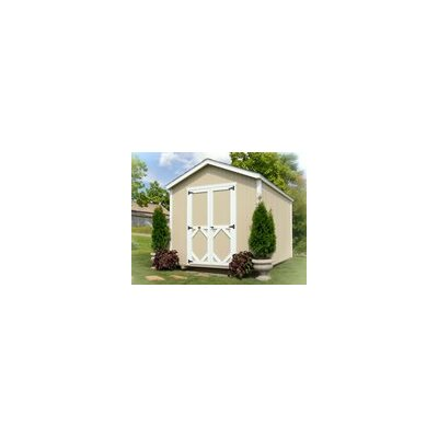 Classic Gable 10 ft. W x 10 ft. D Wooden Storage Shed Size: 12' W x 12' D