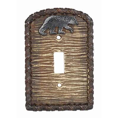 Bear Single Switch Outlet Cover (Set of 4)