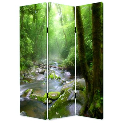 Meadows and Streams 3 Panel Room Divider