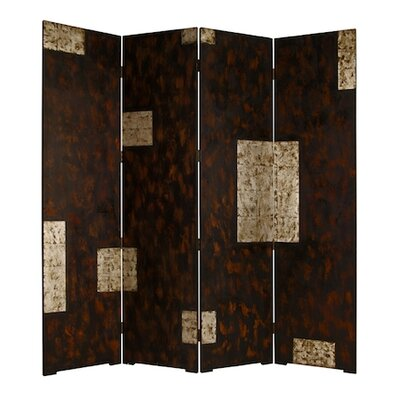 "Screen Gems 74"" x 84"" Double Sided Evolution Screen 4 Panel Room Divider"