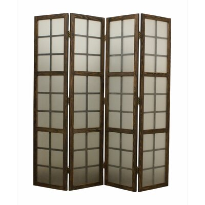 Eglomise 4 Panel Room Divider