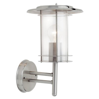 Saxby Lighting York 1 Light Outdoor Wall Lantern