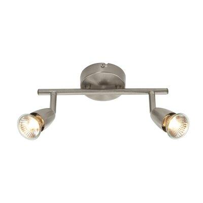 Saxby Lighting Amalfi 2 Light Semi-Flush Ceiling Light