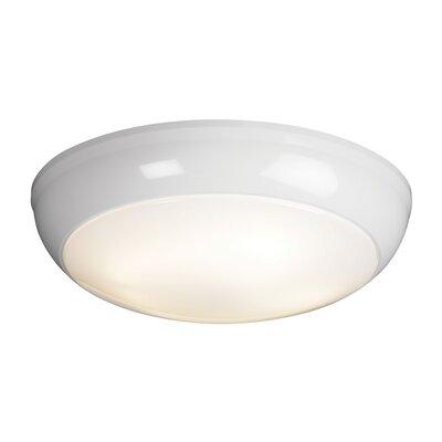 Saxby Lighting Vigor 1 Light Flush Ceiling Light