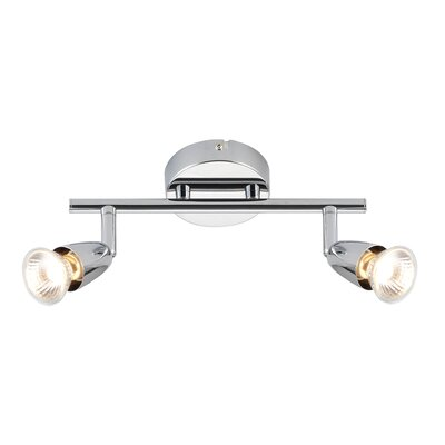 Saxby Lighting Amalfi 2 Light Ceiling Spotlight